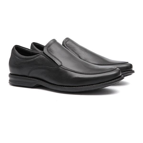 Comfort Gel ORAN Preto - Sapato Masculino Loafer Samello