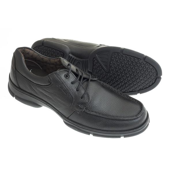 Sapato Sândalo Confort Kairo Cadarço Preto