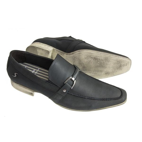 Sapato Casual Sândalo Linea Preto