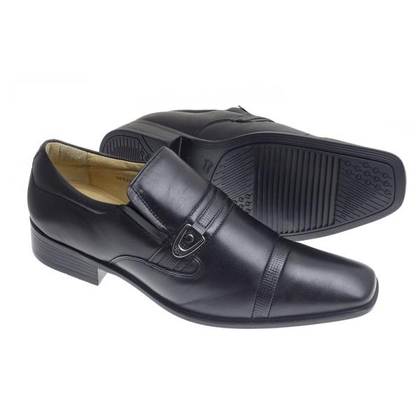 Sapato Social Sândalo Vermont Black