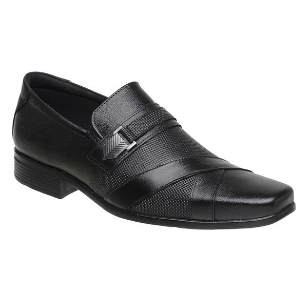 Sapato Social Sândalo Plaza Black
