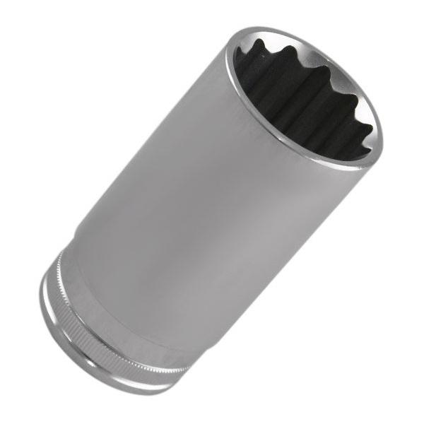 Soquete Estriado Longo 1/2'' X 24mm 80822BX