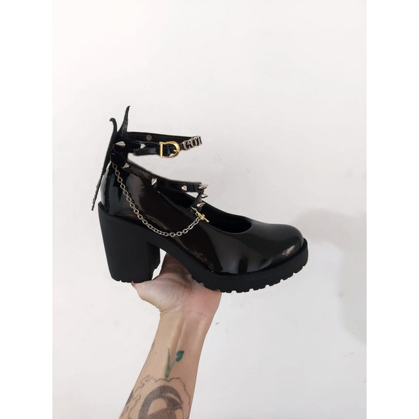 Sapato Gothic Lolita Maeve