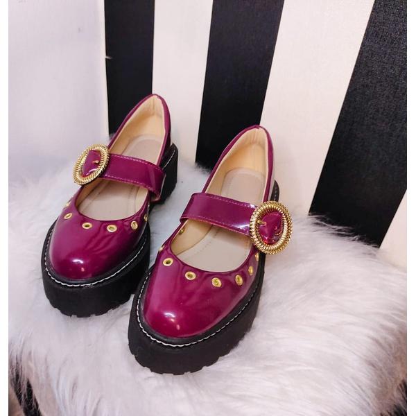 Sapato Boneca Vinho