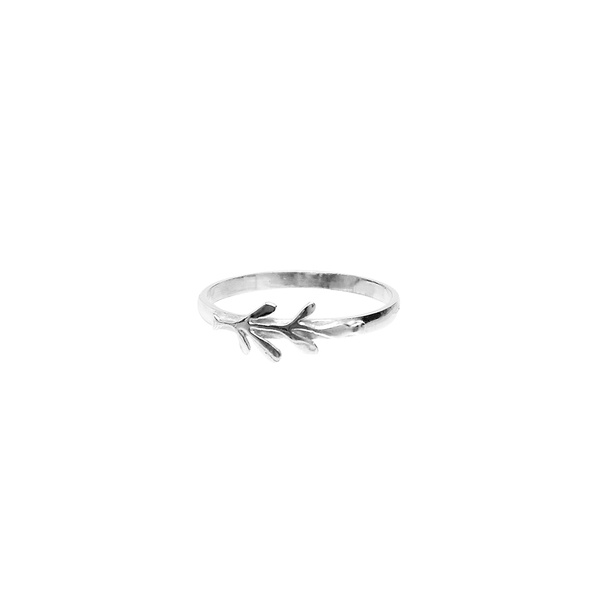 Anel Slim Em Prata 925 - Arruda | Coleção Tribus
