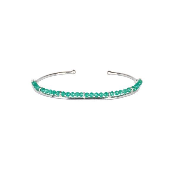 Bracelete Frame Jade Verde   Novidades