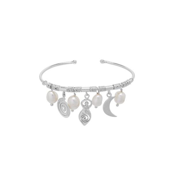Bracelete Balangandãs Prata | Coleção Guta Virtuoso