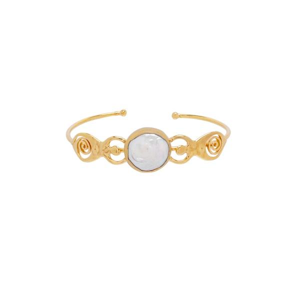 Bracelete Irmãs Deusa Dourado