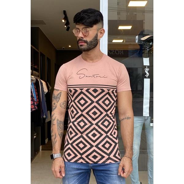 T-Shirt Long Burgos Salmon