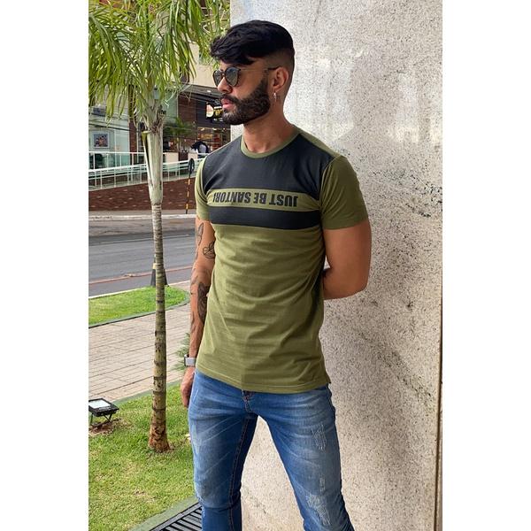 T-Shirt Long Leon Green