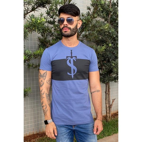 T-Shirt Long Nantes Blue