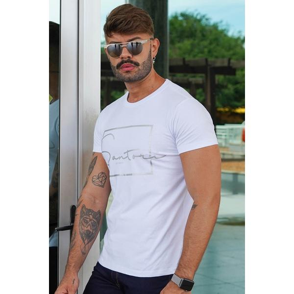 T-shirt Bath White