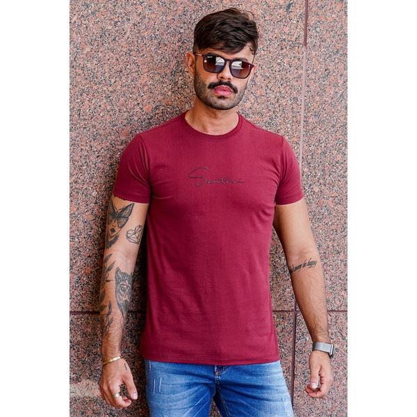 T-shirt Dubai Burgundy