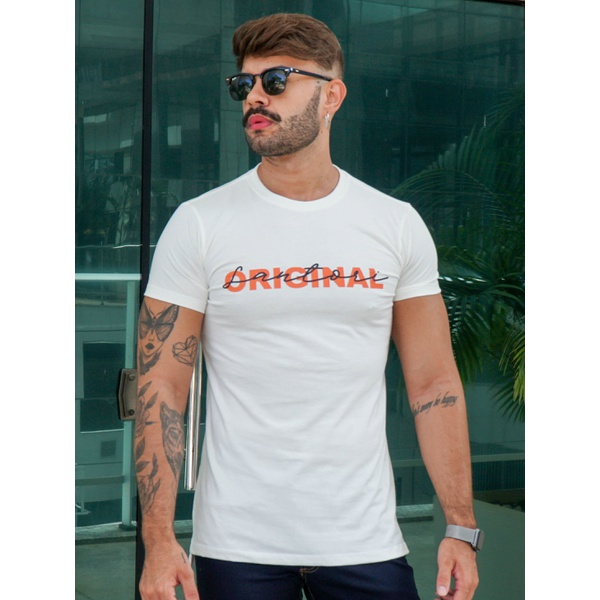 T-shirt Long Baltimore Off White