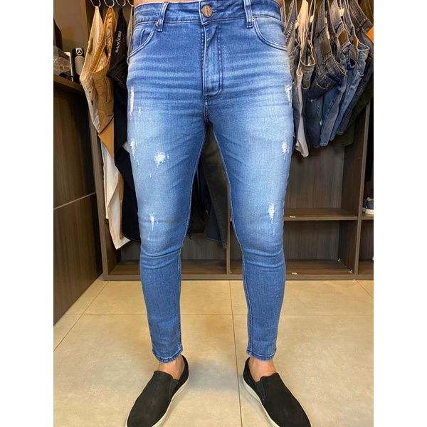 Calça Jeans Super Skinny 301506