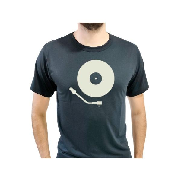 Camiseta T-Shirt Masculina Vinil Preta