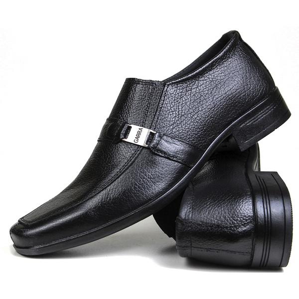 Sapato Social em Couro Floater Preto 700