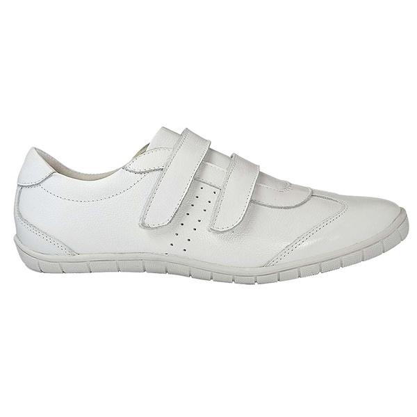 Sapatênis Feminino com Velcro Branco