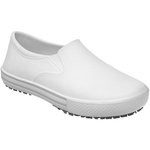 Sapato Branco Profissional e Ocupacional