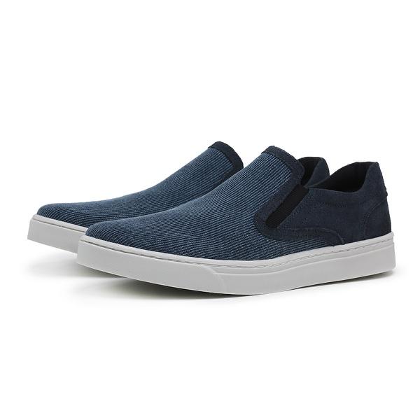 Slip On Coronello Casual Azul Marinho Jeans