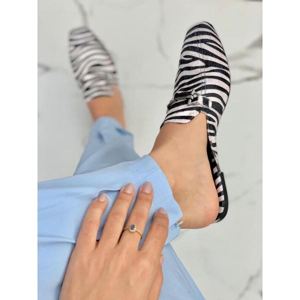 Mulle Quadrado Zebra
