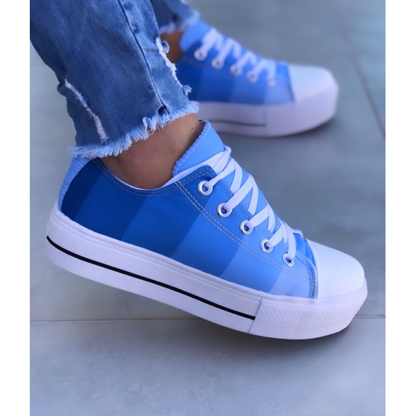Tênis Degradê Azul