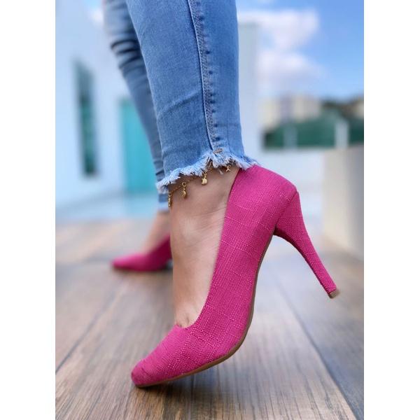 Scarpin Linhão Pink