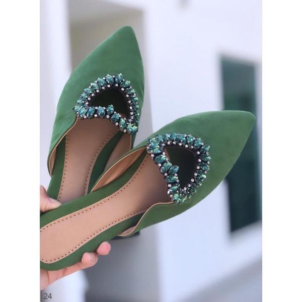 Mulle Coração Aberto Verde
