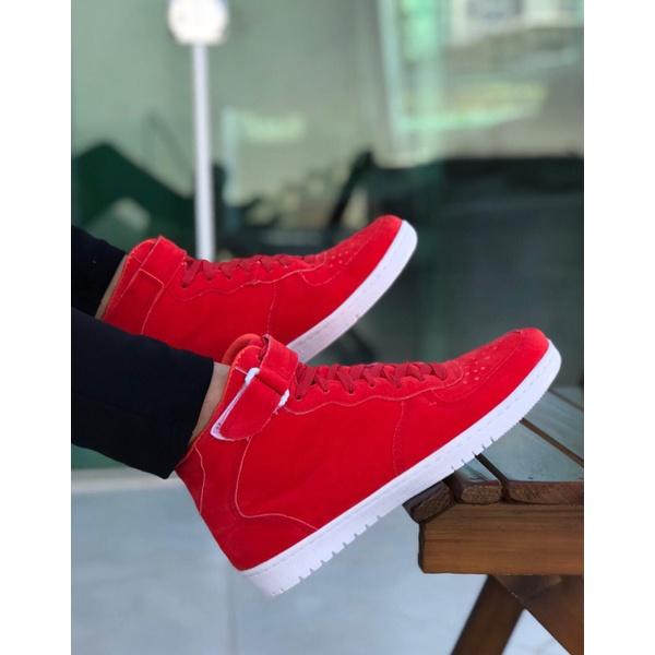 Sneaker Laranja Avermelhado