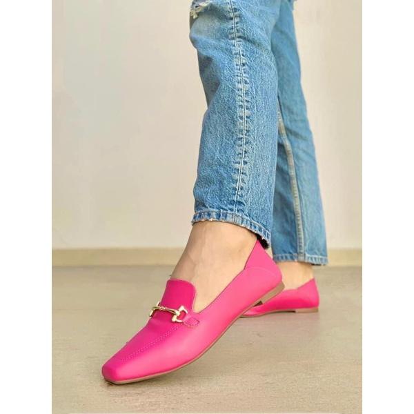 Mocassim Liso Pink