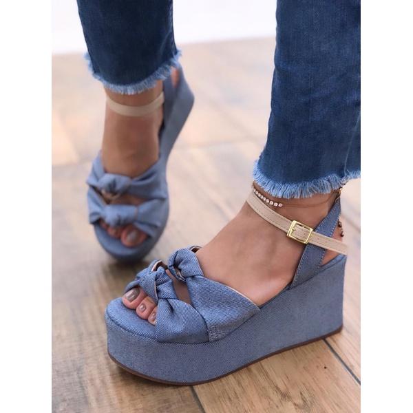 Anabela no Jeans