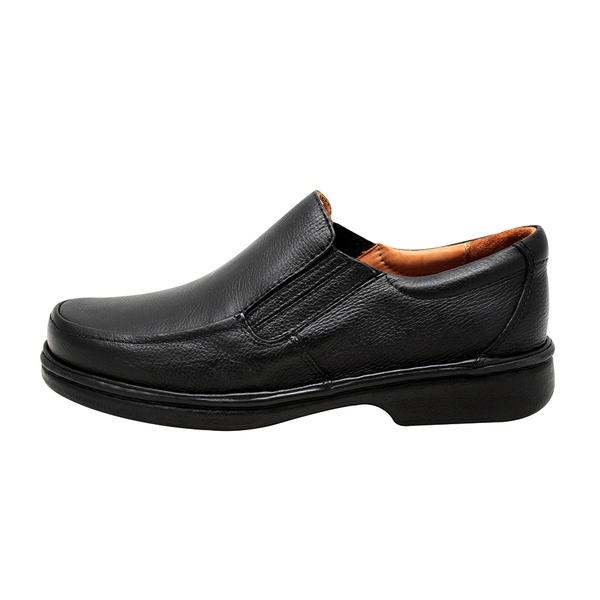 Sapato social linha conforto em couro