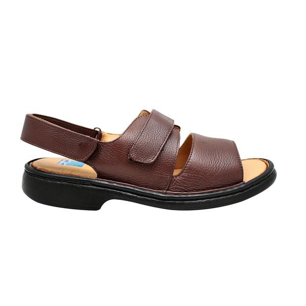 Sandália masculina em couro