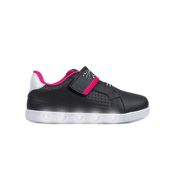 Tênis de Led Infantil Sneaker Luz Only Girl Pampili