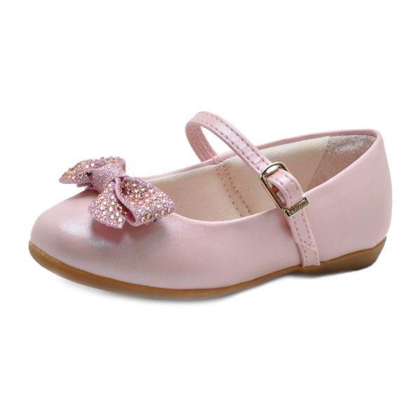 Sapato Infantil Pampili Bailarina com Laço Holográfico