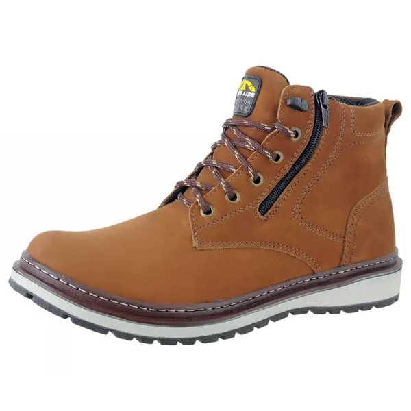 Bota Masculina Casual Urbana Bell Boots 835 Osso - 882