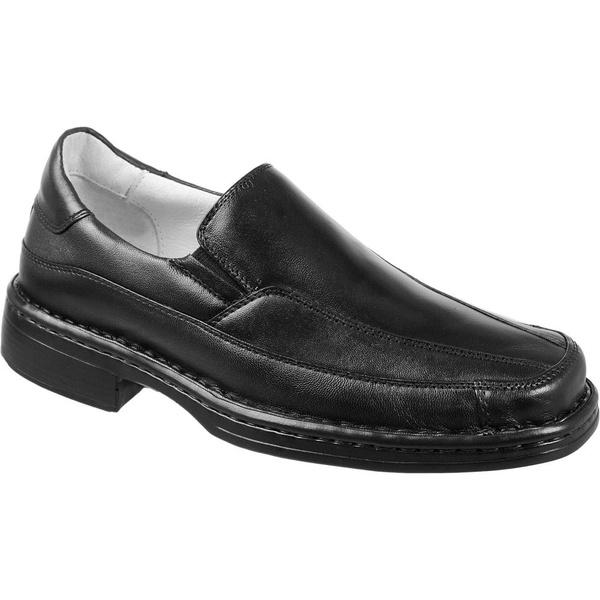 Sapato social masculino conforto em couro