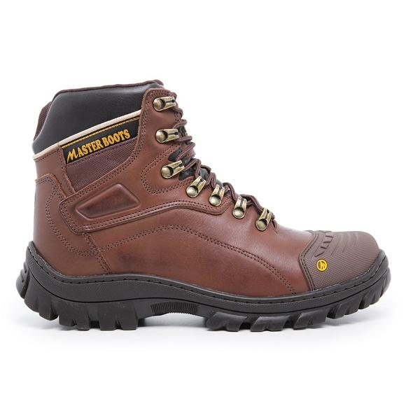 Bota Coturno Militar/Adventure - Master Boots - 9820 - Chocolate - 628