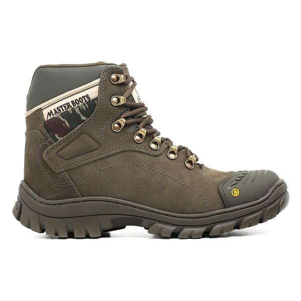 Bota Coturno Militar/Adventure - Master Boots - 9820 Oliva
