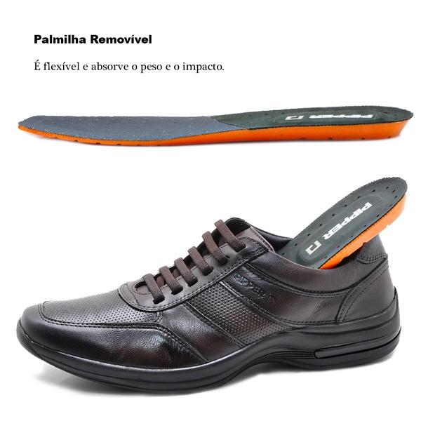 Sapato Casual em Couro Pipper