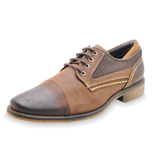 Sapato Casual Masculino em Couro