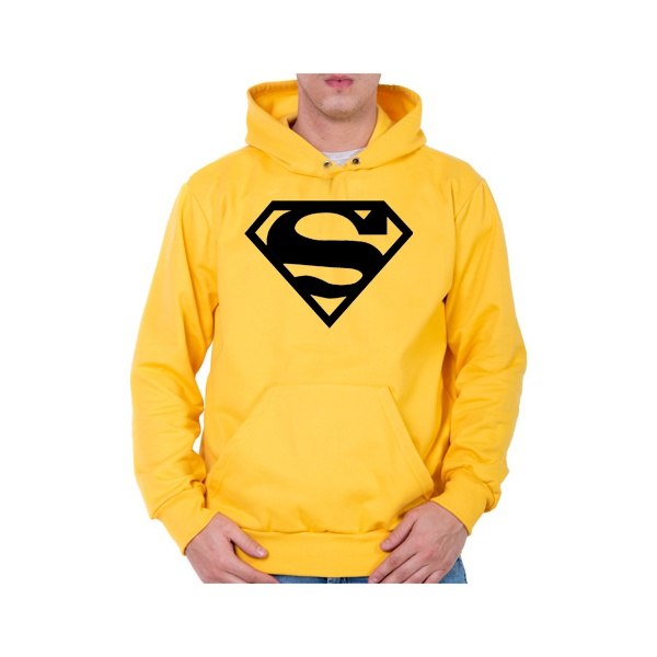Moletom Unissex Superman - Amarelo