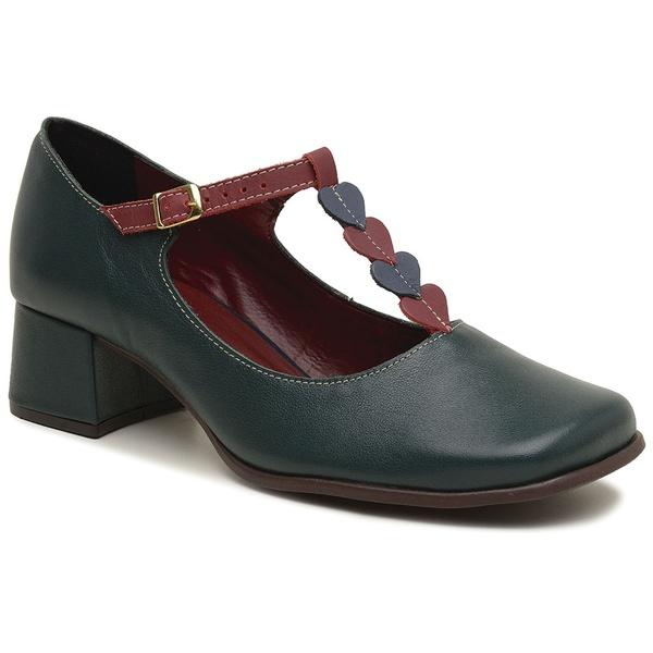 Sapato Boneca Retrô - Coração - 913-19