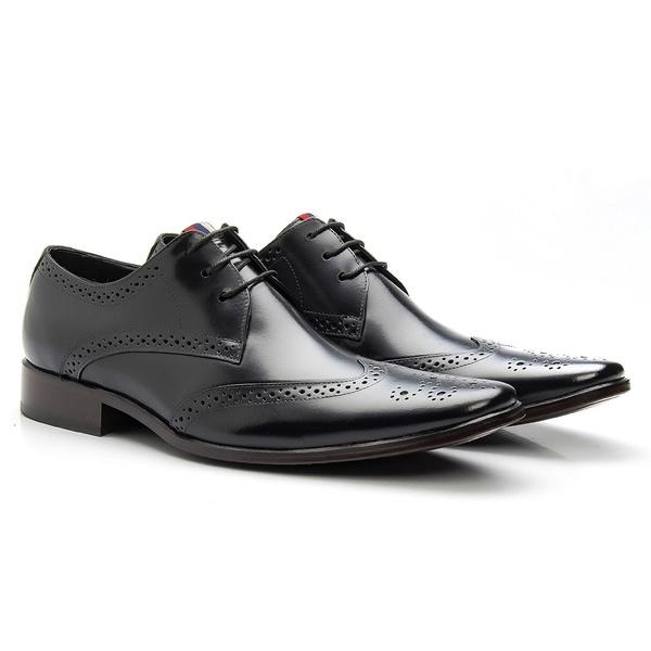 Sapato Brogue Preto