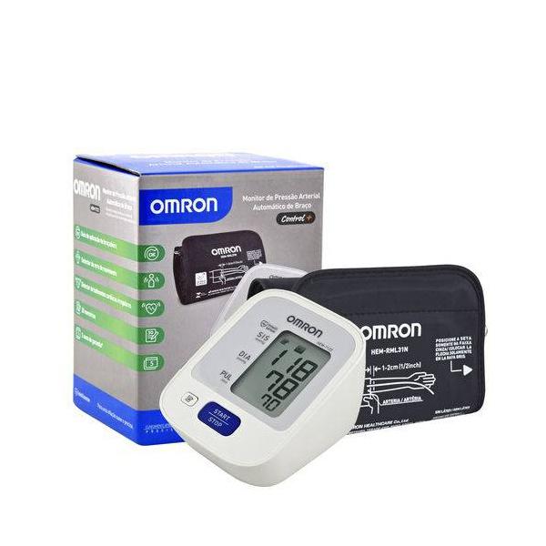 Aparelho De Pressão Digital Automático De Braço Omron 7122