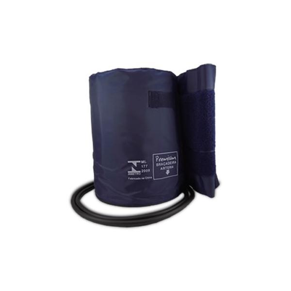 Braçadeira Grande Nylon Fecho Velcro Com Manguito Premium