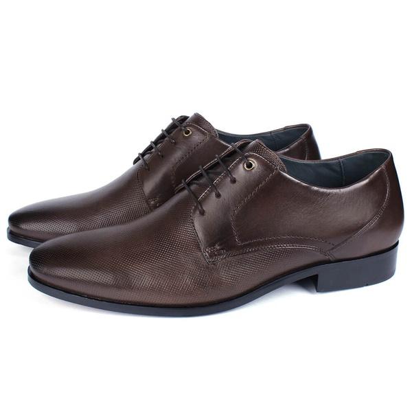 Sapato Masculino Social em Couro Café Savelli