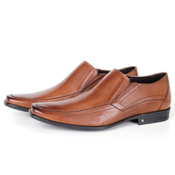 Sapato Conforto de Calçar em Couro Bronze Savelli