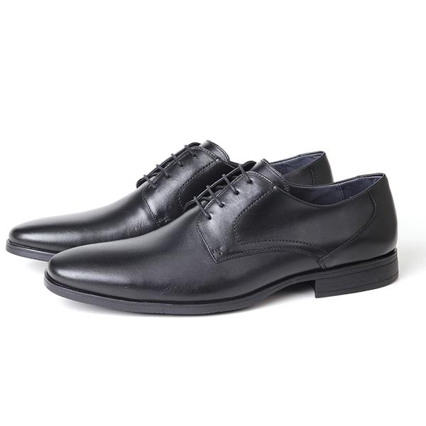 Sapato Clássico Social em Couro Preto Savelli