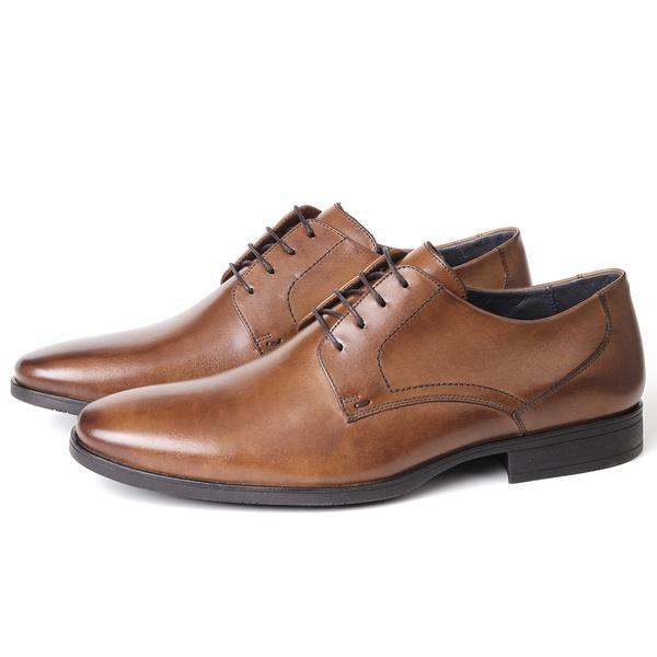 Sapato Clássico Social em Couro Havana Savelli